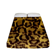 Seamless Animal Fur Pattern Fitted Sheet (Full/ Double Size)