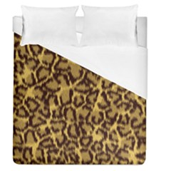 Seamless Animal Fur Pattern Duvet Cover (Queen Size)