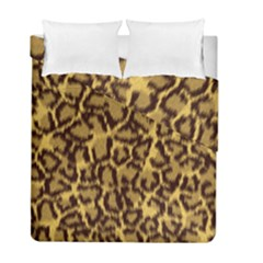Seamless Animal Fur Pattern Duvet Cover Double Side (Full/ Double Size)
