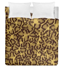Seamless Animal Fur Pattern Duvet Cover Double Side (Queen Size)