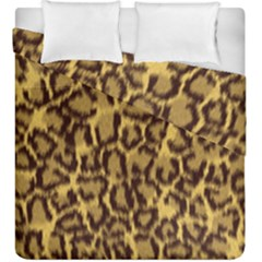 Seamless Animal Fur Pattern Duvet Cover Double Side (King Size)