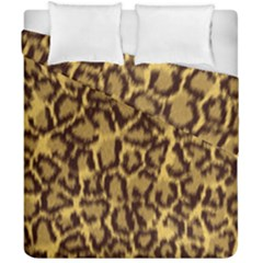 Seamless Animal Fur Pattern Duvet Cover Double Side (California King Size)