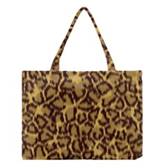 Seamless Animal Fur Pattern Medium Tote Bag by Simbadda