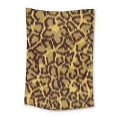 Seamless Animal Fur Pattern Small Tapestry
