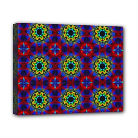 Abstract Pattern Wallpaper Canvas 10  X 8  by Simbadda