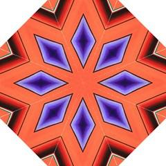 Diamond Shape Lines & Pattern Golf Umbrellas by Simbadda