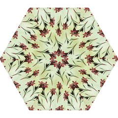 Vintage Style Seamless Floral Wallpaper Pattern Background Mini Folding Umbrellas by Simbadda