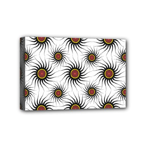 Pearly Pattern Half Tone Background Mini Canvas 6  X 4