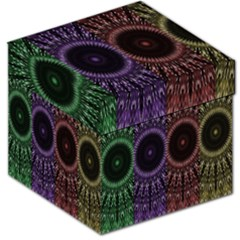 Digital Colored Ornament Computer Graphic Storage Stool 12   by Simbadda