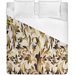 Floral Vintage Pattern Background Duvet Cover (california King Size) by Simbadda
