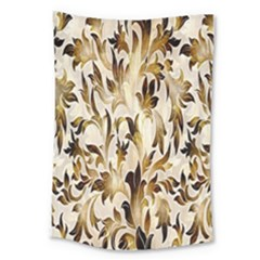 Floral Vintage Pattern Background Large Tapestry by Simbadda