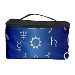 Astrology Birth Signs Chart Cosmetic Storage Case by Amaryn4rt