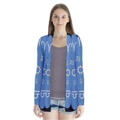 Astrology Birth Signs Chart Cardigans by Amaryn4rt