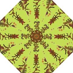Set Of Monetary Symbols Hook Handle Umbrellas (medium) by Amaryn4rt