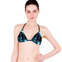 A Completely Seamless Background Design Circuitry Bikini Top by Amaryn4rt