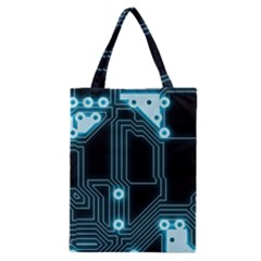 A Completely Seamless Background Design Circuitry Classic Tote Bag by Amaryn4rt