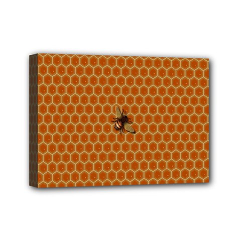 The Lonely Bee Mini Canvas 7  X 5  by Amaryn4rt