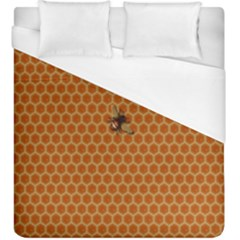 The Lonely Bee Duvet Cover (king Size) by Amaryn4rt