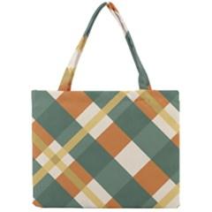 Autumn Plaid Mini Tote Bag by Alisyart