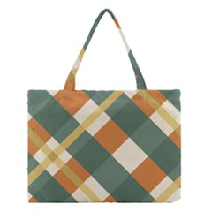 Autumn Plaid Medium Tote Bag by Alisyart