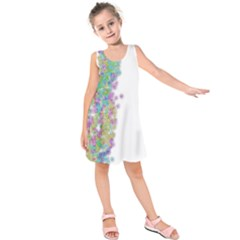 Color Splash Of Spring Annabellerockz Png Kids  Sleeveless Dress