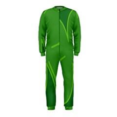 Leaf Clover Green Onepiece Jumpsuit (kids) by Alisyart