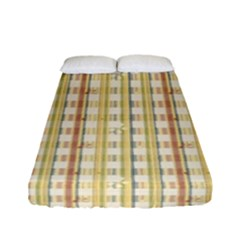 Tomboy Line Yellow Red Fitted Sheet (full/ Double Size) by Alisyart