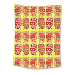 Funny Faces Medium Tapestry by Amaryn4rt
