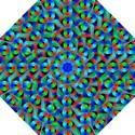 Bee Hive Color Disks Golf Umbrellas View1