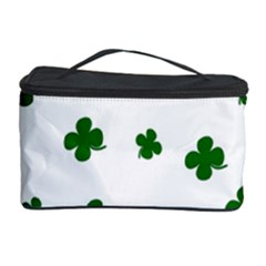 St  Patrick s Clover Pattern Cosmetic Storage Case by Valentinaart