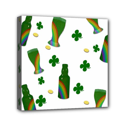 St  Patricks Day  Mini Canvas 6  X 6  by Valentinaart