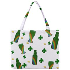 St  Patricks Day  Mini Tote Bag by Valentinaart