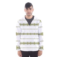 Ethnic Floral Stripes Hooded Wind Breaker (men) by dflcprintsclothing