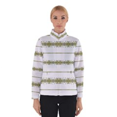 Ethnic Floral Stripes Winterwear by dflcprintsclothing