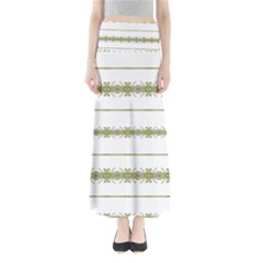 Ethnic Floral Stripes Maxi Skirts by dflcprintsclothing