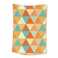 Triangles Pattern  Small Tapestry
