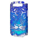 Background Fabric With Tiger Head Pattern Samsung Galaxy S III Hardshell Case (PC+Silicone) View3