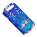 Background Fabric With Tiger Head Pattern Samsung Galaxy S III Hardshell Case (PC+Silicone) View5