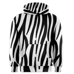 Seamless Zebra A Completely Zebra Skin Background Pattern Men s Zipper Hoodie by Amaryn4rt