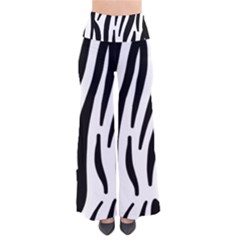 Seamless Zebra A Completely Zebra Skin Background Pattern Pants by Amaryn4rt