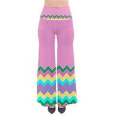 Easter Chevron Pattern Stripes Pants by Amaryn4rt