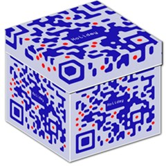 Digital Computer Graphic Qr Code Is Encrypted With The Inscription Storage Stool 12   by Amaryn4rt