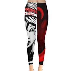 Sickle Cell Is Me Picsart 1482705574799 Leggings  by shawnstestimony