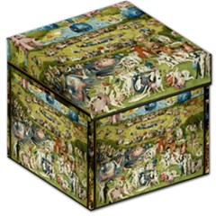 Hieronymus Bosch Garden Of Earthly Delights Storage Stool 12   by MasterpiecesOfArt