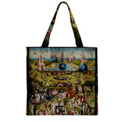 Hieronymus Bosch Garden Of Earthly Delights Grocery Tote Bag by MasterpiecesOfArt