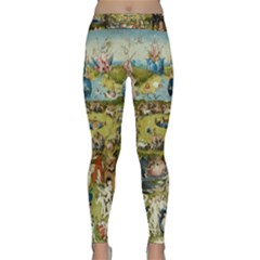 Hieronymus Bosch Garden Of Earthly Delights Classic Yoga Leggings by MasterpiecesOfArt