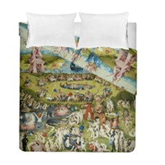 Hieronymus Bosch Garden Of Earthly Delights Duvet Cover Double Side (full/ Double Size) by MasterpiecesOfArt