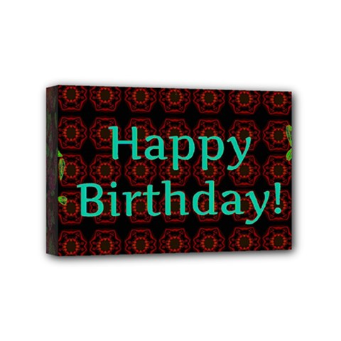 Happy Birthday To You! Mini Canvas 6  X 4  by Amaryn4rt