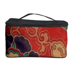 Vintage Chinese Brocade Cosmetic Storage Case by Amaryn4rt
