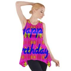 Happy Birthday! Side Drop Tank Tunic by Amaryn4rt